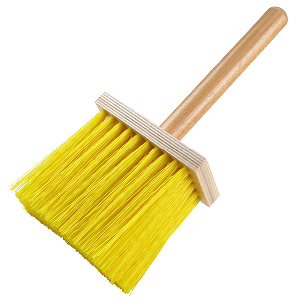 Yellow- Plastic Stucco Dash Brush