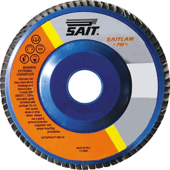 Z80 Flap Disc, 4-1/2x7/8