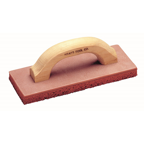 Sandsucker- Red Float with Wood Handle