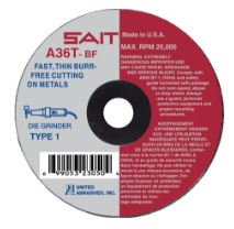 United Abrasives Metal Cutting Blade Type 1