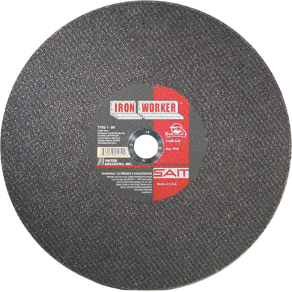 Chop Saw Blade, Metal, 12""