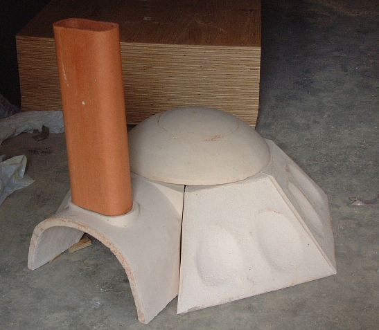 Superior Clay Oven Dome with Extension