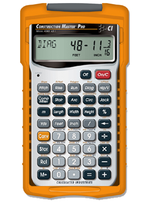 Construction Master Pro Calculator 4065
