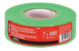 Task Tools Green PVC Flagging Tape
