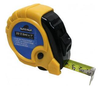Task Tools Rubber Jacket Tape Measure