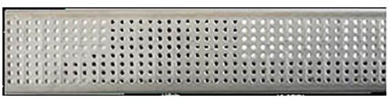 ACO 451Q Stainless Steel Grate, Perforated, 1M