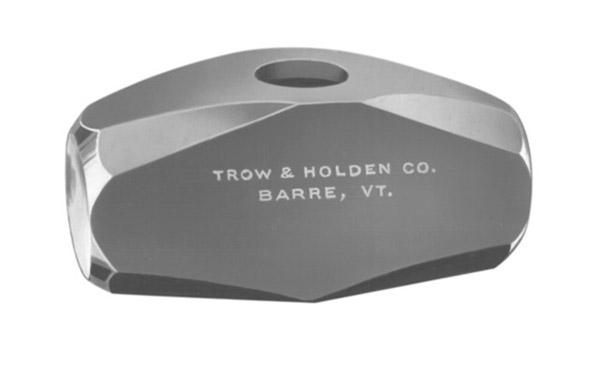"Trow & Holden Masons Hammer Oval Eye w/16"" Handle, 3Lb"