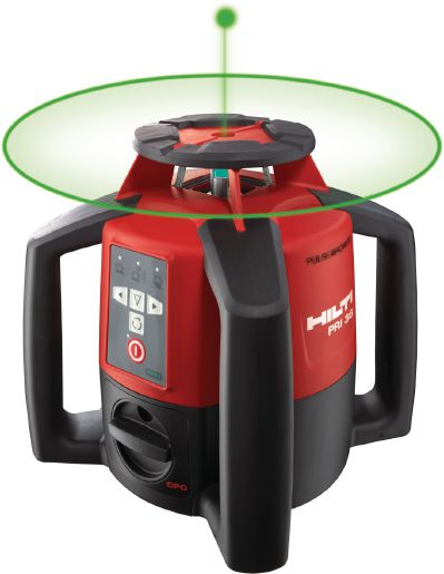 Hilti PRI 36 Laser w/PRA 71 Wallmount