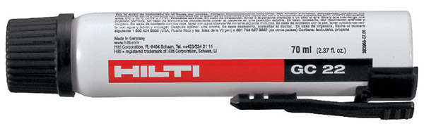 Hilti Gas Canister GC 22 HNA, 70ML