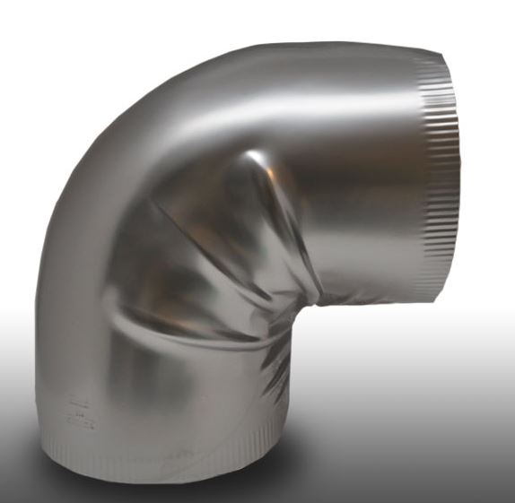 Shield Metal Stainless Steel 90° Elbow