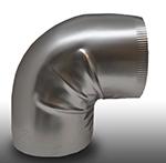 Shield Metal Stainless Steel 90° Elbow