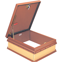 "Bilco 36""x30"" S-50T ALUM Roof Hatch"