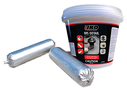 Pails of IKO MS Detail Waterproof Membrane