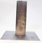 Menzies Metal Lead Pipe Flashing Flat