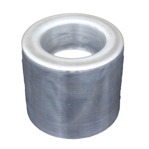 Precision Metals Aluminum Cap For Welded Aluminum Stack, 4""