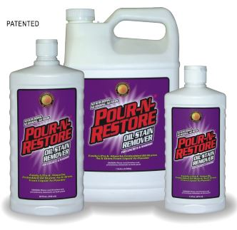 Pour-N-Restore Oil Stain Remover 3 Sizes