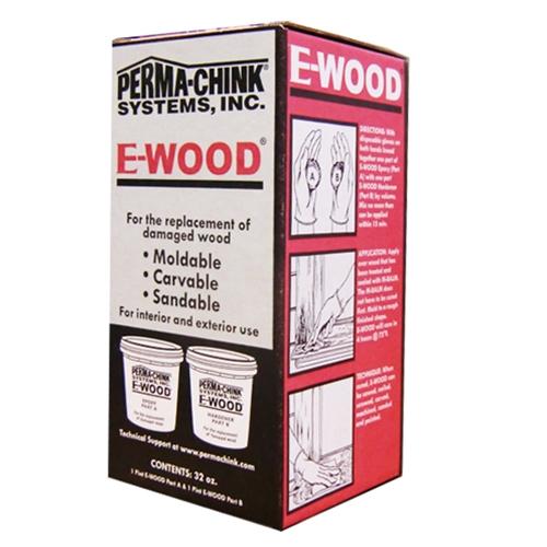 Perma-Chink E-Wood Putty, 32 oz