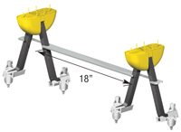 MeadowBurke Super Lift III Double Bar 45Sl3990
