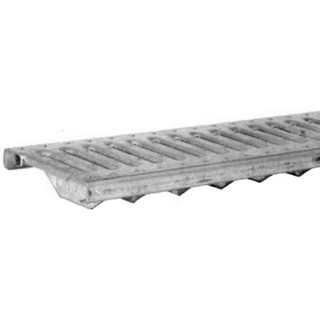 Polycast DG0647R Slotted Stainless Steel Grate