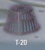 Thaler Metal T-20 PVC Strainer