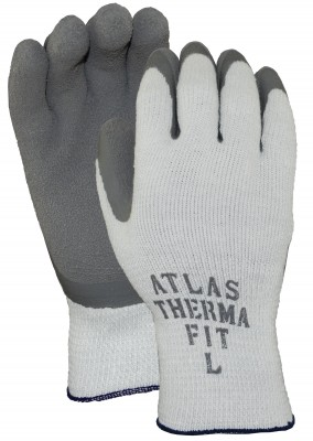 Pair of white/Grey Watson Atlas Tough Guy Gloves