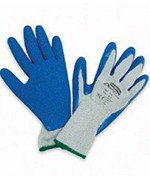 Pair of blue/Grey North Northflex Duro Task Gloves