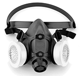 Dual Cartridge Half Mask Respirator L 550030L