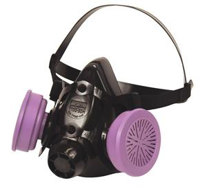 North Half-Mask Respirator, Dual Cartridge, M, 770030M