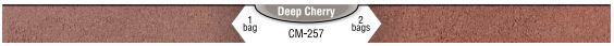 Interstar Pigments Mortar Color Deep Cherry