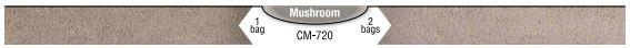 Interstar Pigments Mortar Color Mushroom