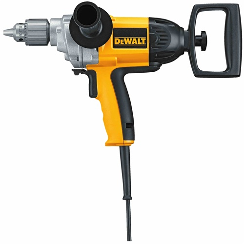 "Abmast Spade Handle Drill, 1/2"", 9.0Amp, 550RPM, Dewalt"