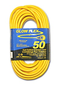 Extension Cord 3 Prong Light End, 100'