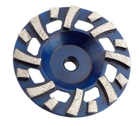 Husqvarna Grinding Cup Wheel Blue Metal