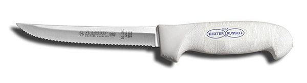 Buckaroos Softgrip Scalloped Knife T-36WW 6""