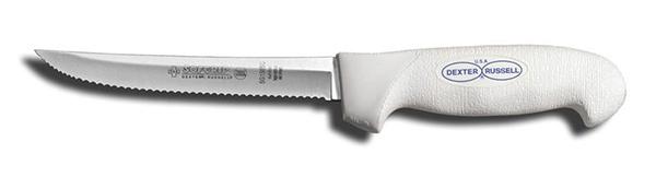 "Buckaroos Softgrip Scalloped Knife T-36WW 6"""