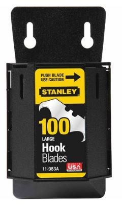 Stanley 1996 Large Hook Blades with Dispenser