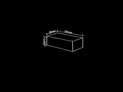Tristar Concrete Brick, Standard Grey, 720/Pallet