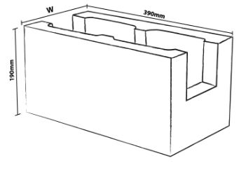 Tristar Rebar Concrete Block