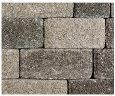 Basalite Stonewall II Grey Blend