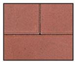 Abbotsford Classic Standard Series Paver Red
