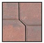 Abbotsford Legend Series Pavers Red / Black