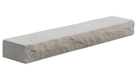 Arriscraft Stone Sill, Rocked Finish, White, C306
