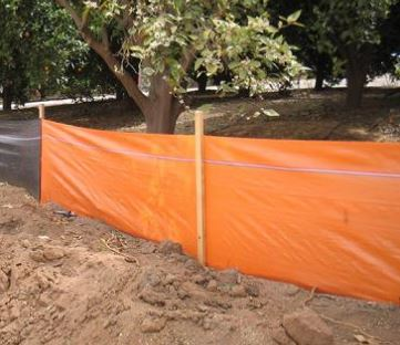 BMP Supplies Silt Fence Orange Posts