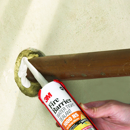 3M 1000NS Fire Barrier Water Tight Sealant, 298ML