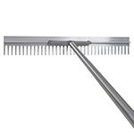 "36"" Aluminum Asphalt Rake w/Handle"