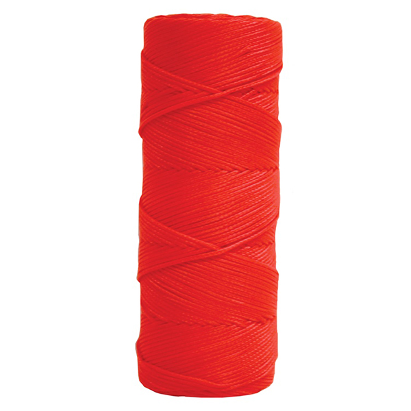 Fluorescent Orange Braided Nylon Maso's Line