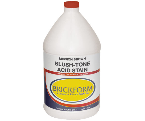 Brickform Blush Tone Acid Stain