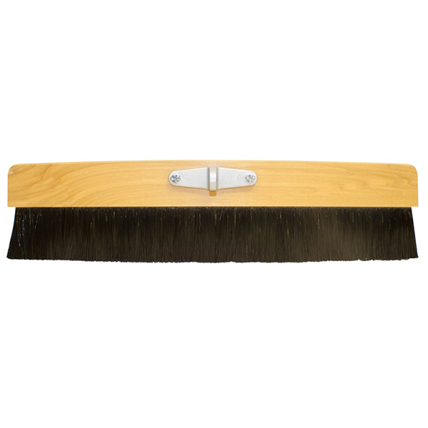 "24"" Wood Med Cement Finish Broom"