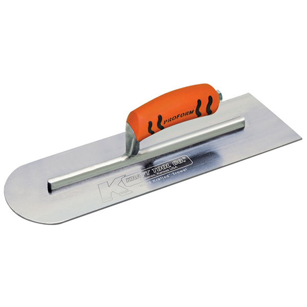 Round End Cement Trowel with ProForm Handle