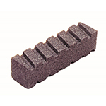 20 Grit Fluted Rub Brick
